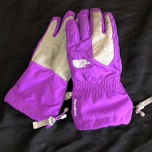 North Face Youth HyVent Gloves